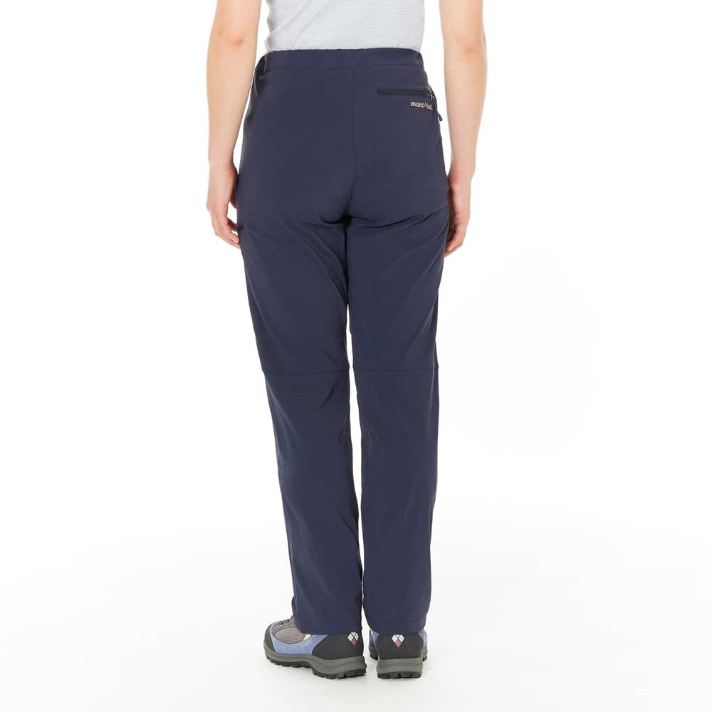 Mont-bell 彈性長褲 女 黑藍 Stretch Light Pants Women's 1105629